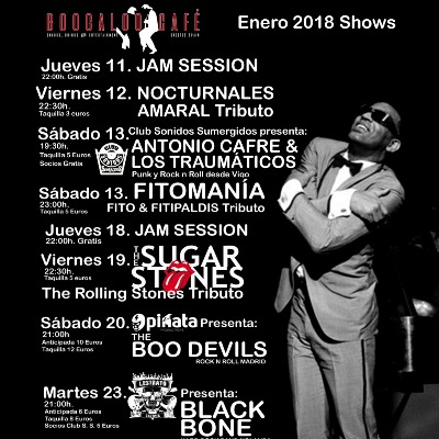 The Boo Devils en Cáceres