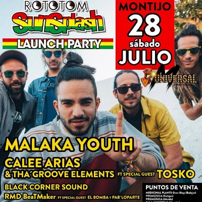 Rototom Launch Party Extremadura en Montijo